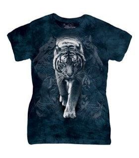 Tigre Blanc - T-shirt Femme The Mountain