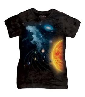 Système Solaire - T-shirt Femme The Mountain