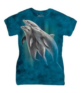 Trois Dauphins - T-shirt Femme The Mountain