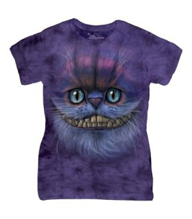 Chat de Cheshire - T-shirt Femme The Mountain