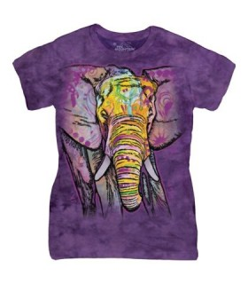 Elephant Russo - T-shirt Femme The Mountain