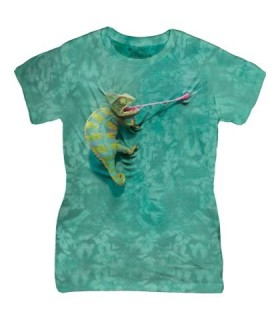 Caméléon Grimpant - T-shirt Femme The Mountain