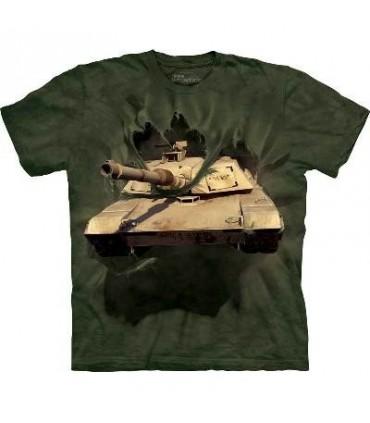 T-Shirt Char M1 Abrams par the Mountain