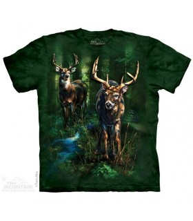 T-shirt Cerfs Tachetés The Mountain