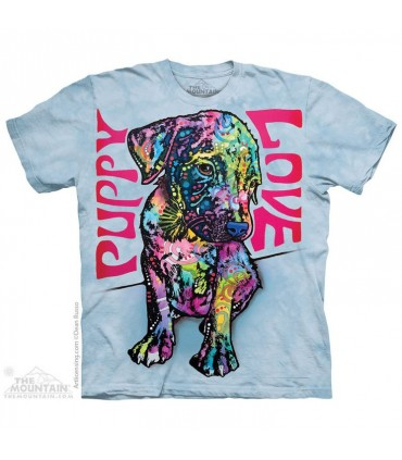 T-shirt Chiot Coloré The Mountain
