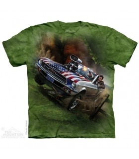 Reagan le Libérateur - T-shirt Voiture The Mountain