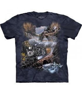 T-Shirt Silver Belle par The Mountain