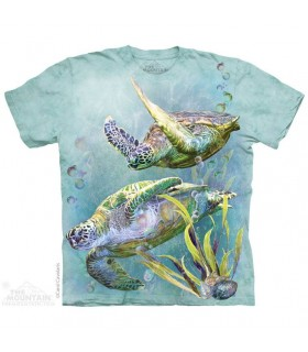 The Mountain Unisex Sea Turtles Swim T Shirt