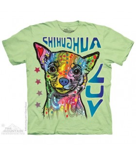T-shirt Chihuahua Coloré The Mountain