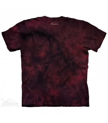 Red Rich - T-shirt Tacheté Dye The Mountain