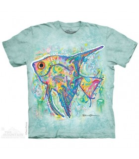 The Mountain Unisex Russo Angel Fish T Shirt