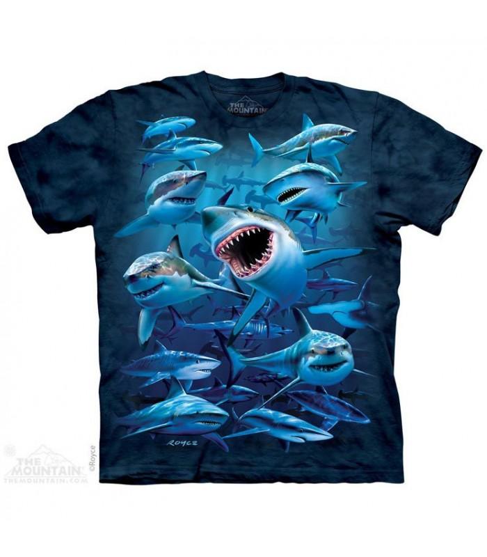 T-Shirt groupe de requins The Mountain