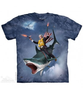 Dubya Shark Fantasy T Shirt The Mountain