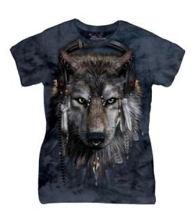 T-shirt Femme DJ Fen The Mountain