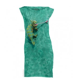 Climbing Chameleon T-Shirt Mini Dress