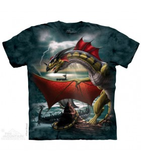 La Sentinelle - T-shirt Dragon The Mountain