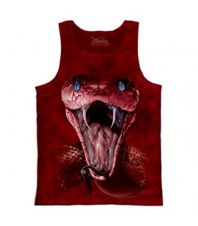 Red Mamba Reptile Tank Tops