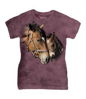 Two Hearts Horse T Shirt