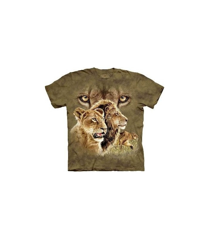 Find 10 Lions - Big Cats T Shirt by the Mountain