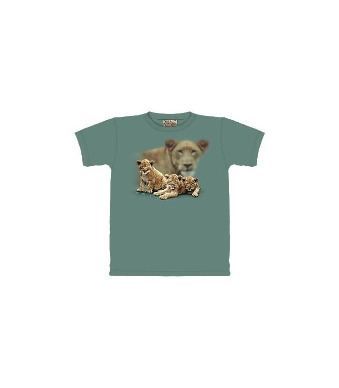 T-Shirt Lionceaux par The Mountain