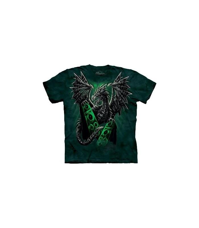T-Shirt Dragon électrique par The Mountain