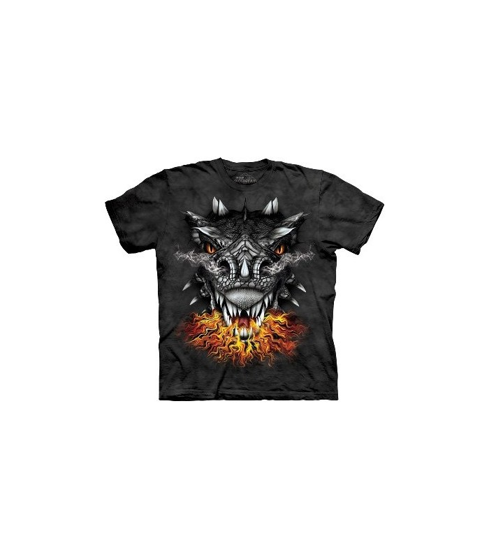Fire Eyes - Dragons Shirt by the Mountain