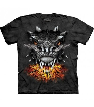 T-Shirt Yeux de Feu par The Mountain
