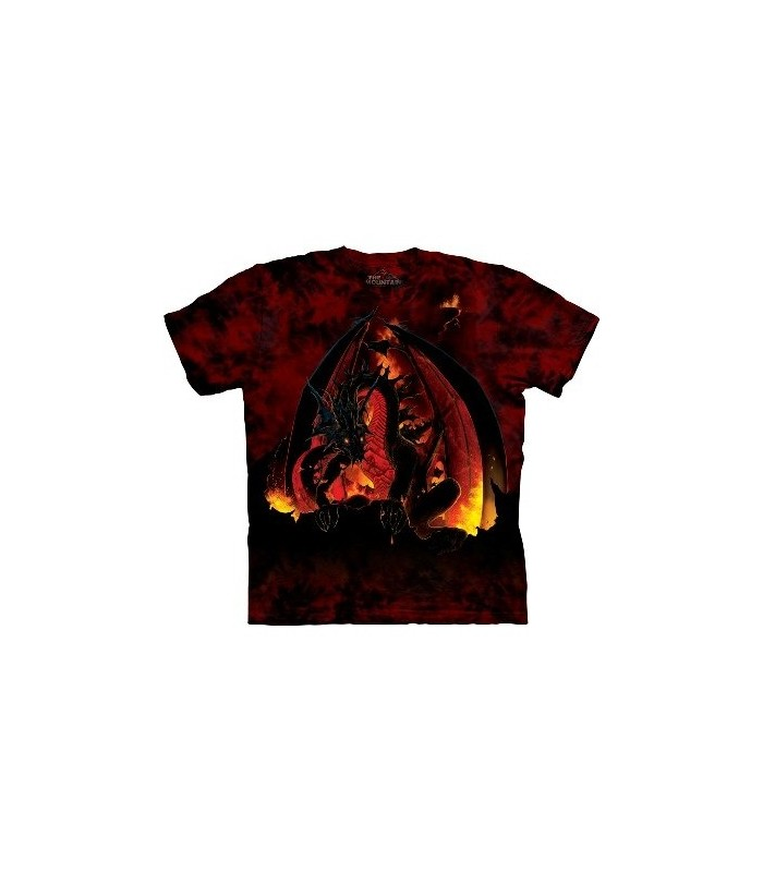 Fireball - Fantasy T Shirt by the Mountain