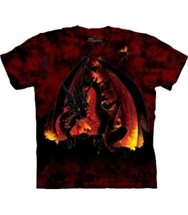T-Shirt Boule de Feu par The Mountain