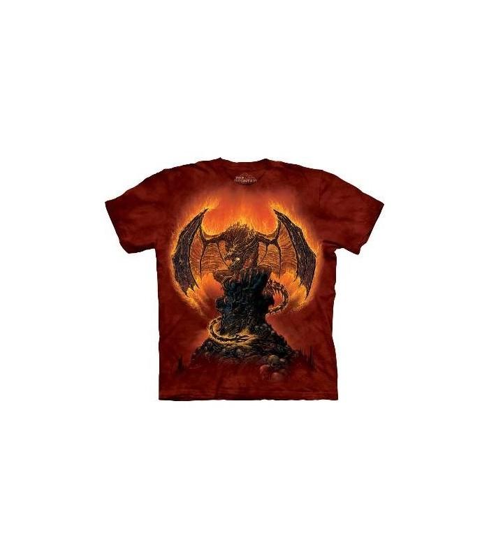 T-Shirt Présage de Feu par The Mountain