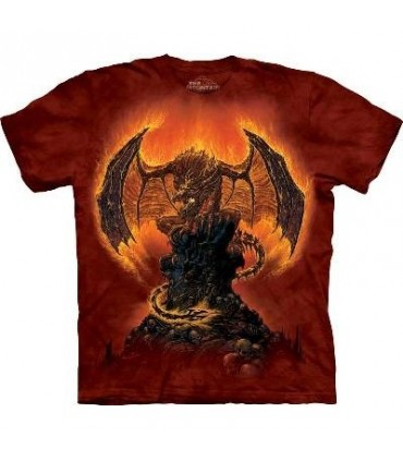 T-Shirt Présage de Feu par The Mountain