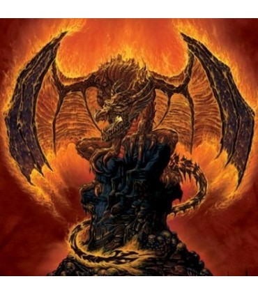 Harbinger Of Fire Dragon T Shirt from The Mountain