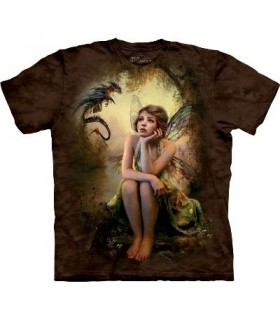 Her Secret - Fairy T Shirt by the Mountain