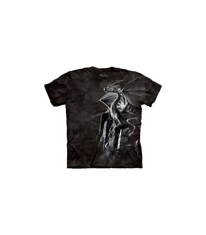T-Shirt Dragon d'Argent par The Mountain
