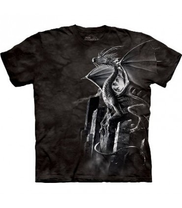 Silver Dragon - Dragons Shirt by the Mountain