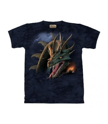 La Croisade - T-shirt Dragon The Mountain