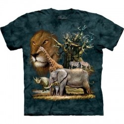 T-shirt animaux du zoo par The Mountain