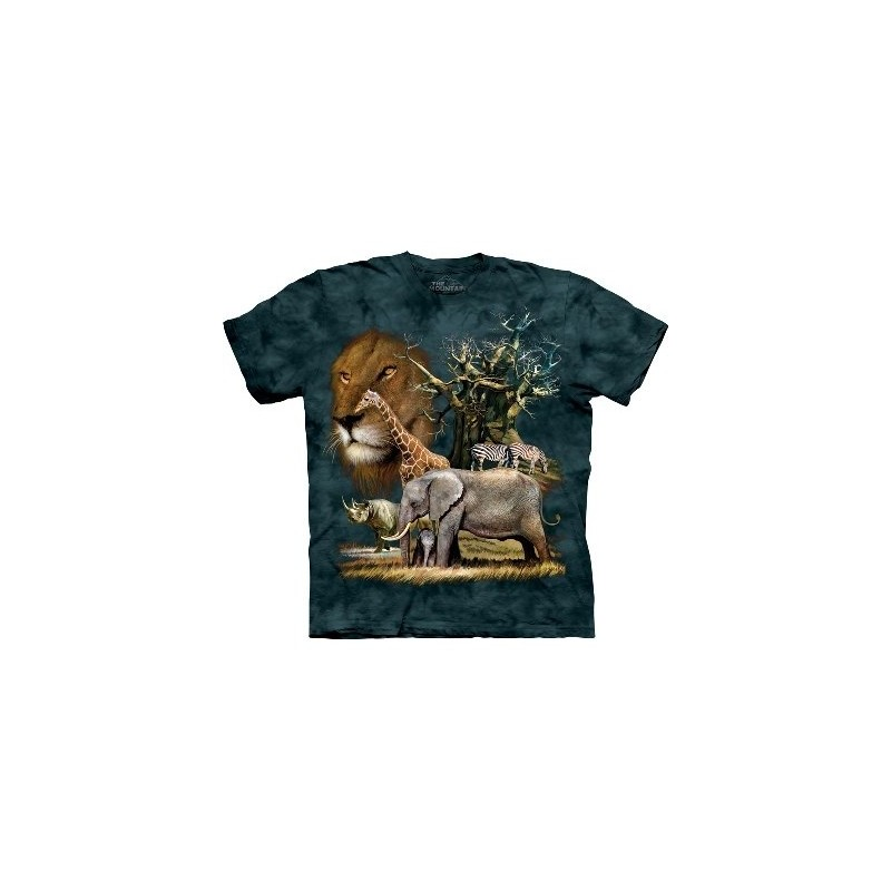Zoo Animals T Shirt by the Mountain