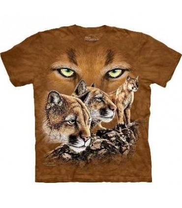 Find 10 Cougars - Big Cat T Shirt Mountain