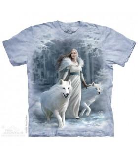 Gardiens de l'hiver - T-shirt loup The Mountain