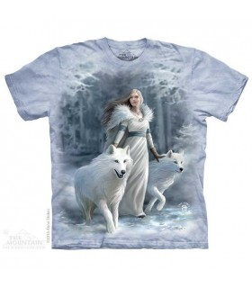 Winter Guardians Wolves T Shirt The Mountain