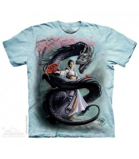 Dragon Dancer Fantasy T Shirt The Mountain