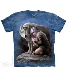 T-shirt Loup Protecteur The Mountain