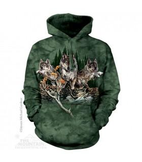 Find 12 Wolves Hoodie Sweatshirt