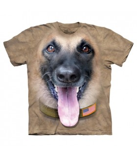 T-shirt Berger Belge Malinois The Mountain
