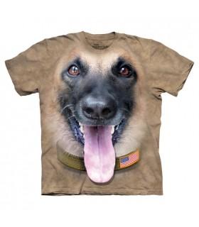 T-shirt Berger Belge Malinois The Mountain