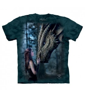 T-shirt Dragon The Mountain