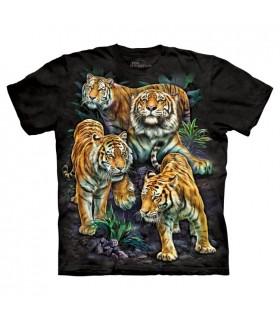 T-shirt Tigres du Bengal