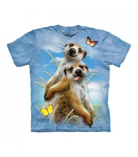 T-shirt Selfie de Suricates