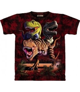 T-Shirt groupe de T-Rex par The Mountain